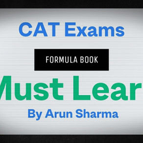 Arun Sharma Formula Book - All Quant Formulas For CAT