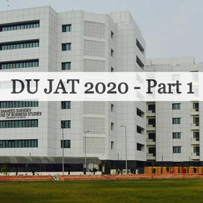 DU JAT 2020: JAT Toppers Address Aspirants' Queries