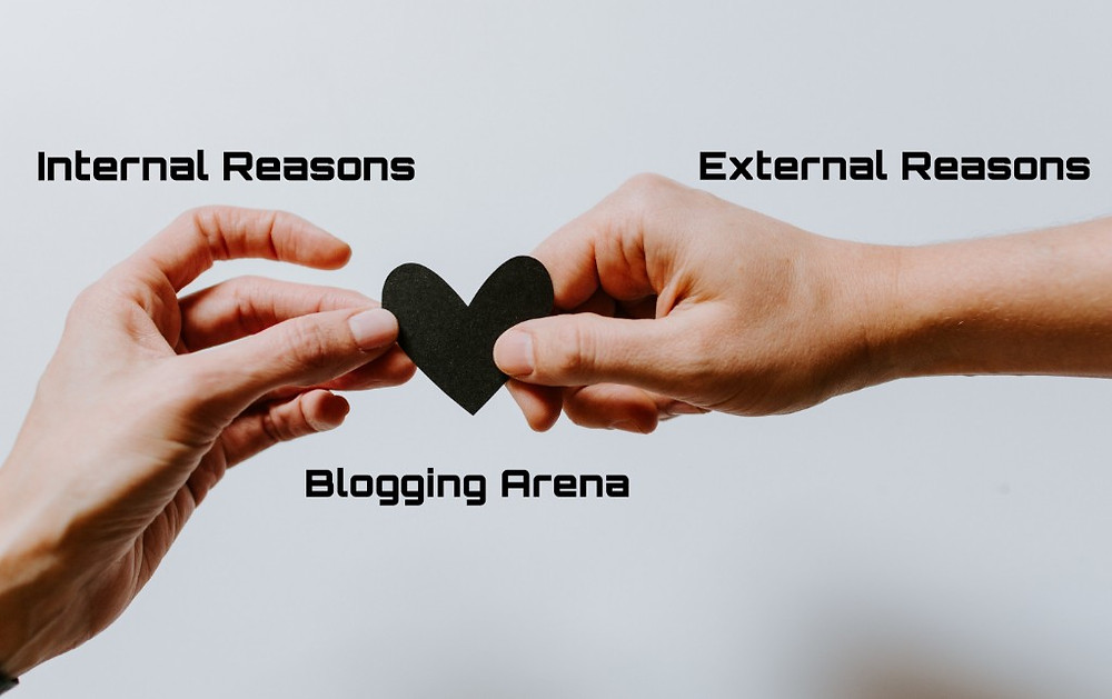 Blogging Sphere - Internal Reasons, External Reasons and Blogging Arena for a Blogger