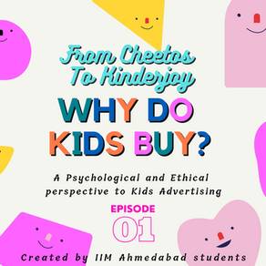 IIM Ahmedabad Students Start a Marketing Podcast on 'Why Do Kids Buy'