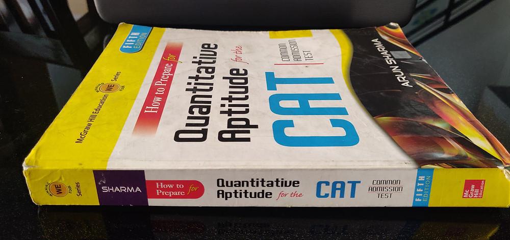 CAT Arun Sharma's Book How to Prepare for Quantitative Aptitude