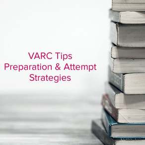 Tips to prepare for Verbal Ability and Reading Comprehension (VARC) for CAT 2020