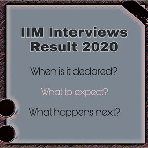 When are IIM interview final results announced and what happens next?