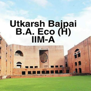 Utkarsh Bajpai   IIM Ahmedabad Interview Experience