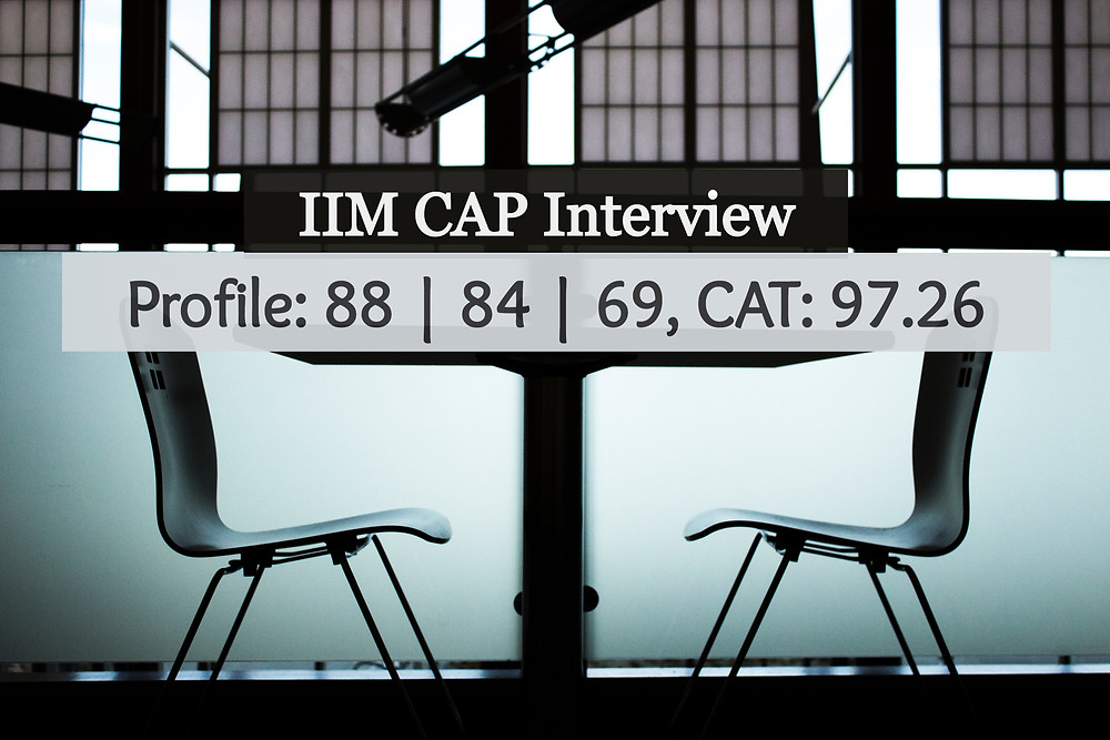 IIM CAP Interview Experience