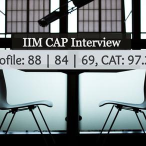 IIM CAP Interview Experience ft. Tirthadeep Das, IIM Raipur