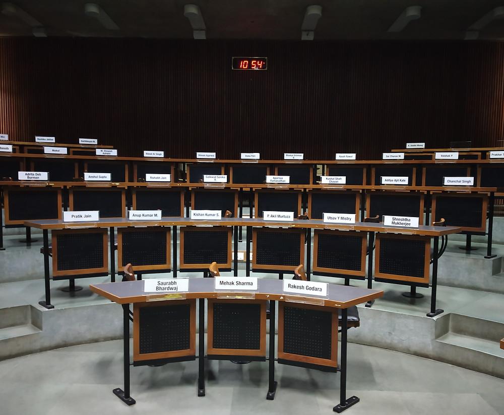 IIM Ahmedabad Classroom