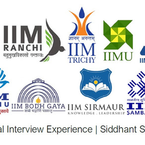IIM CAP 2020 Interview Experience ft. Siddhant Singhal