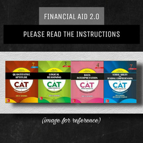 Financial Aid 2.0 for CAT Exam Aspirants & Others | Non-Engineers
