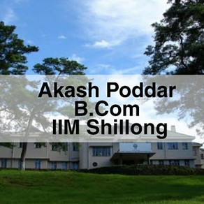 Akash Poddar   IIM Shillong Interview Experience