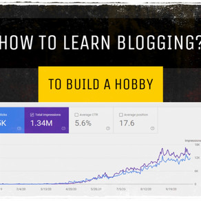 How to Learn Blogging to Build a Hobby for MBA Interviews?