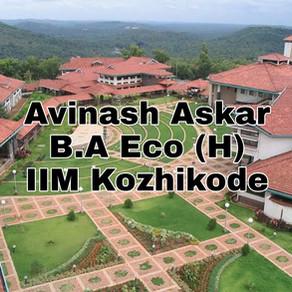 IIM Kozhikode Interview Experience 2020 | Avinash Askar