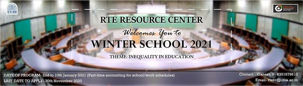 IIM Ahmedabad Winter School