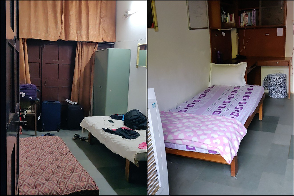 IIM Ahmedabad Old Campus Dorm 9 Room 1