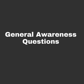 General Awareness Questions - IIM Interviews