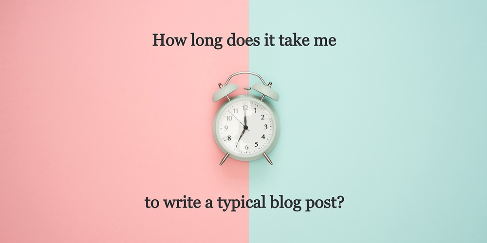 How Much Time For Blog Post