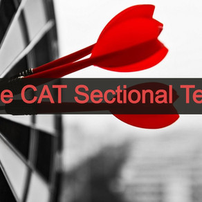 3 Easy Rules of Taking Sectional Tests for CAT Preparation