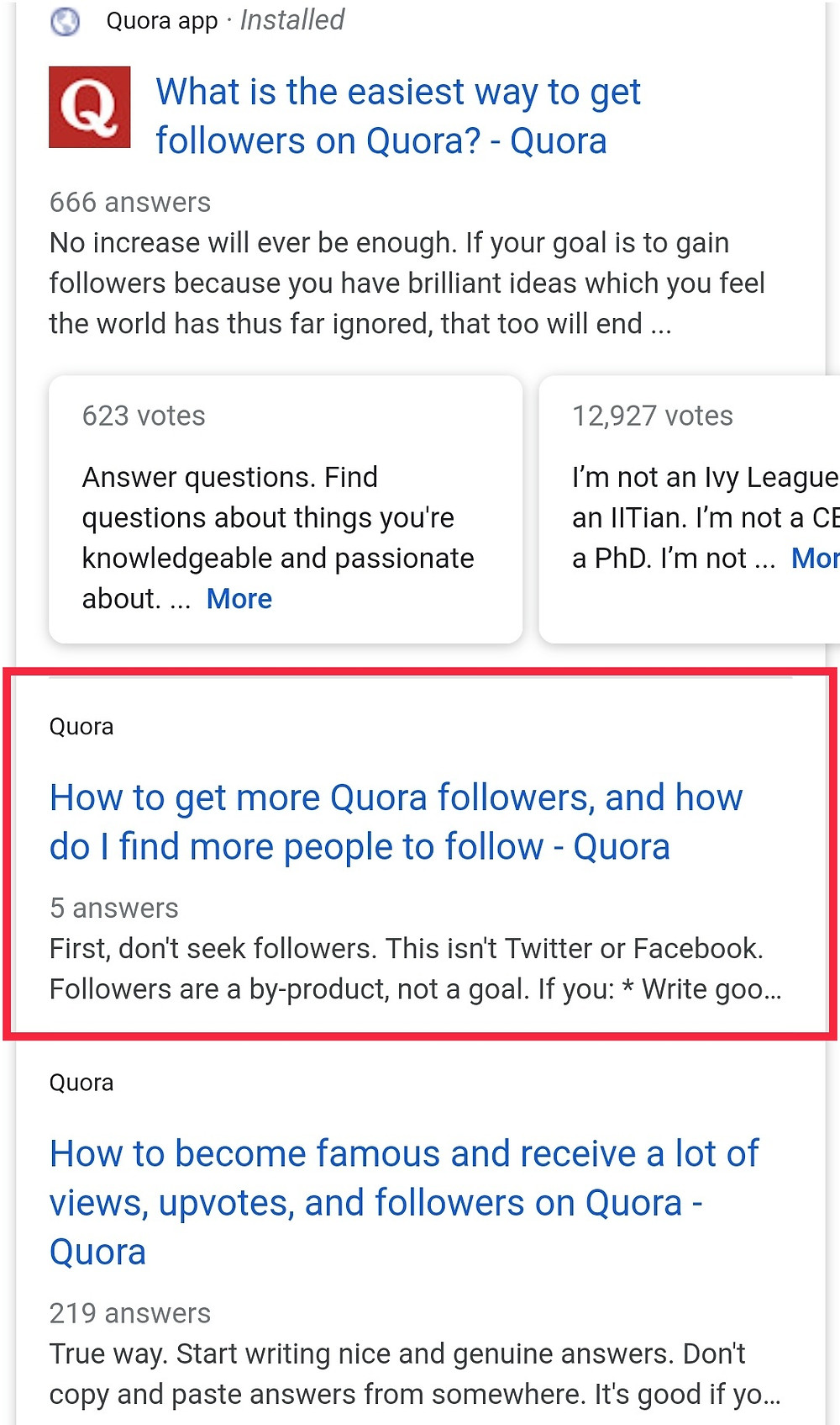 How to Get More Followers on Quora