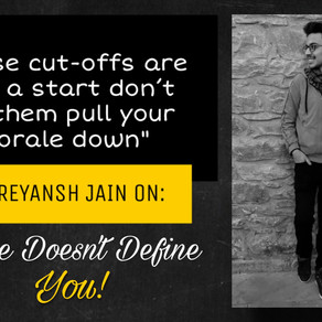 DU Admissions 2020: College Doesn't Define You ft. Shreyansh Jain