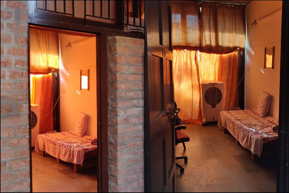 IIM Ahemdabad Old Campus Dorm Room