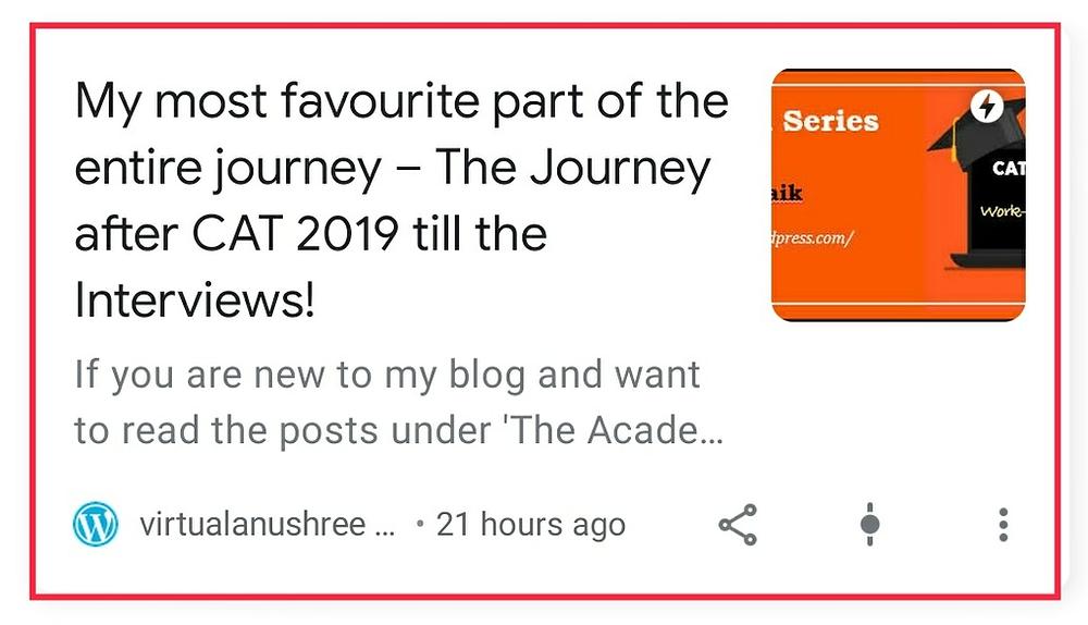 Blogging Anushree