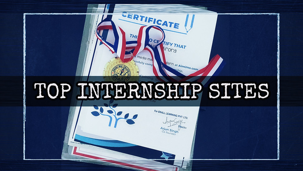 Best Internship Sites for College Students