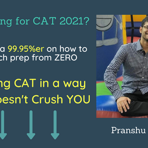 Cracking CAT in a way that doesn't Crush YOU