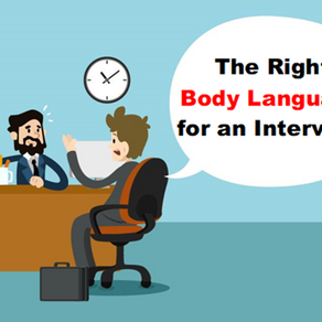 The Right Body Language for an Interview
