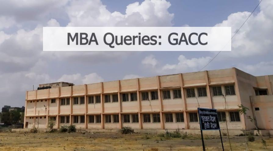 MBA Queries GACC