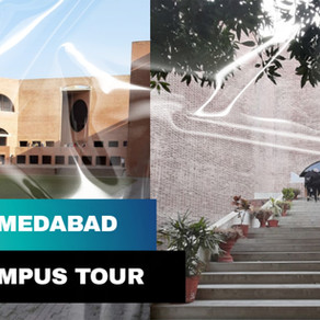 IIM Ahmedabad Campus Tour - A Glimpse of Life at IIMA