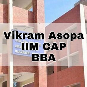IIM CAP New IIMs Interview 2020 Experience | Vikram Asopa