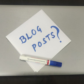 How many Blog Posts should you Publish in the First Month of Blogging?