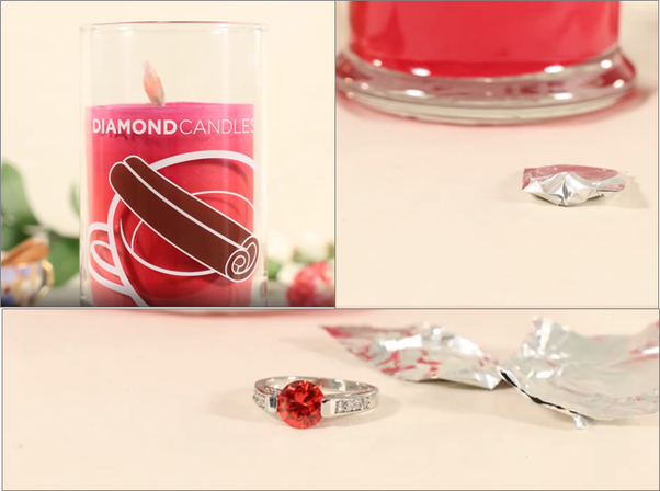 Diamond Candles Sale