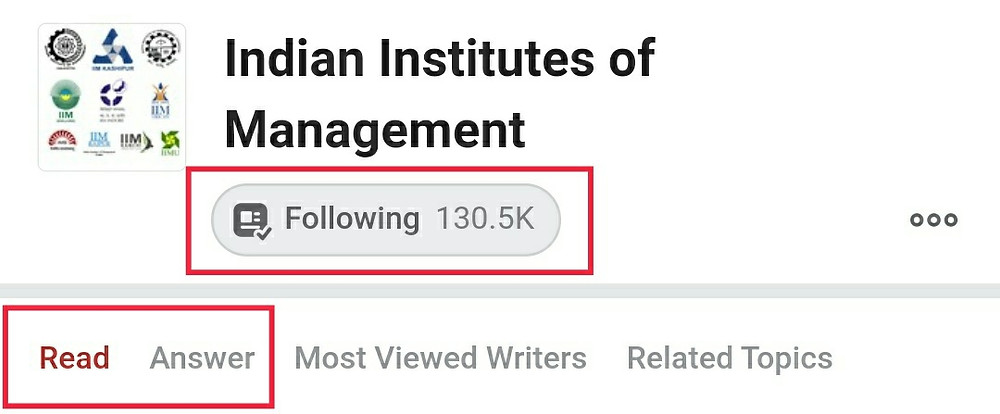 Quora Followers Topics Views