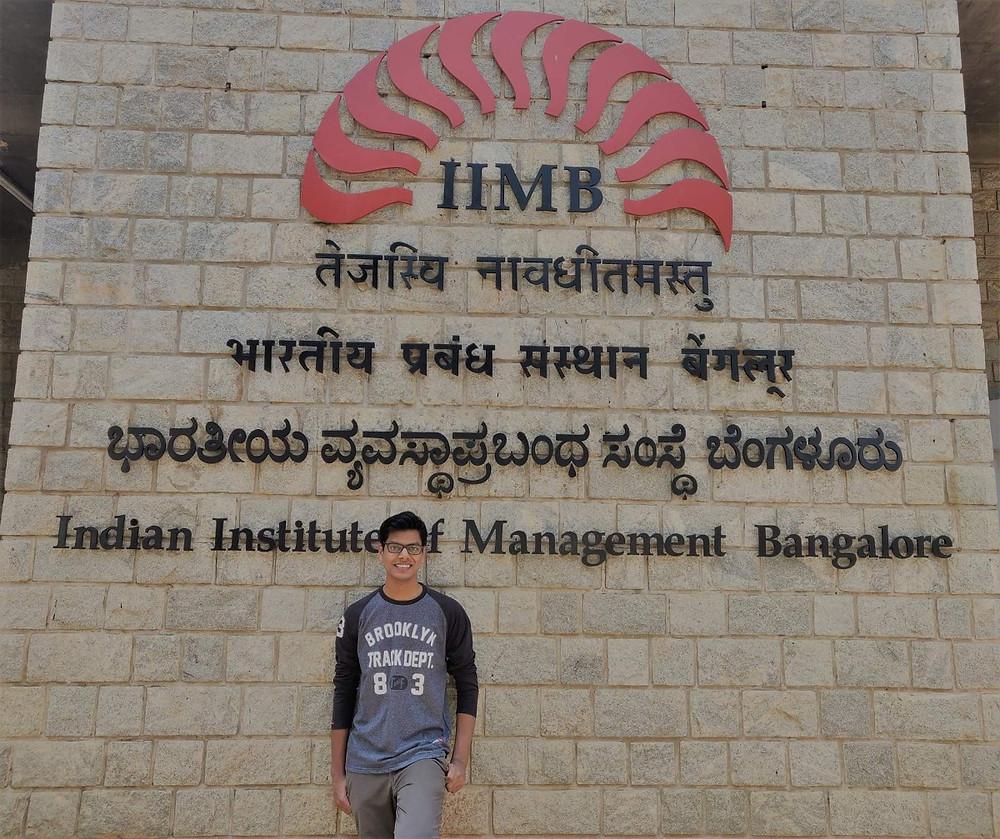 Arpit Agarwal IIM Bangalore IIT Roorkee