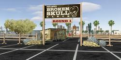 Broken Skull Challenge Rendering
