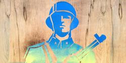 Graffiti Solider