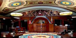 Goliath, Main Courtroom Set