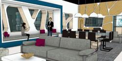 Motor City Masters, Lounge Rendering