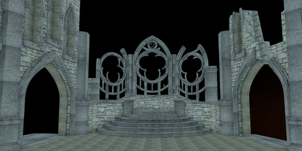 The Quest, Hall of Fates Rendering