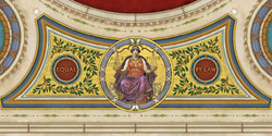 Goliath, Courtroom Ceiling Graphics