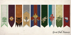 The Quest, Great Hall Banners