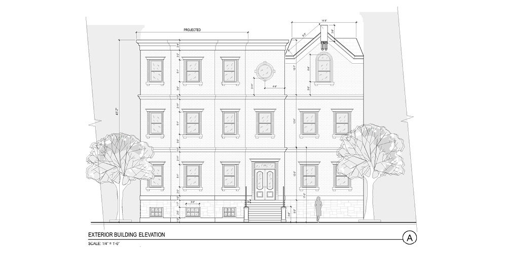 Ext. Brownstone Drafting