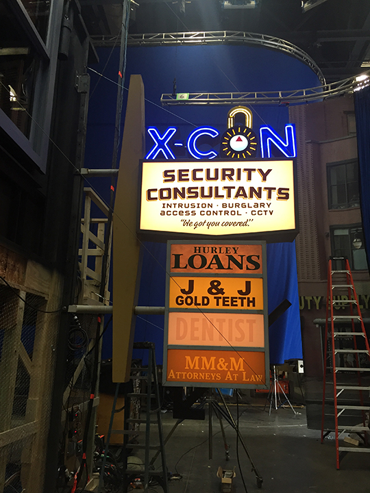 X-Con Completed Sign