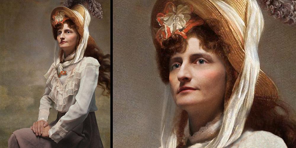 Photoshopped Painting from Photo
