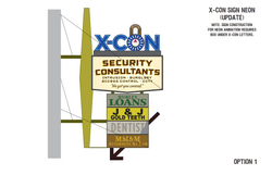 X-Con Sign Plans