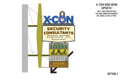 X-Con Sign Plans