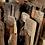 Thumbnail: 解体材と鉄の小さなラダーラック【ミニラウール】