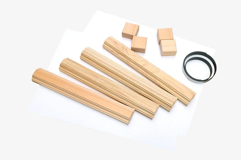 大工のひのき端材フレームセット|DIY spec