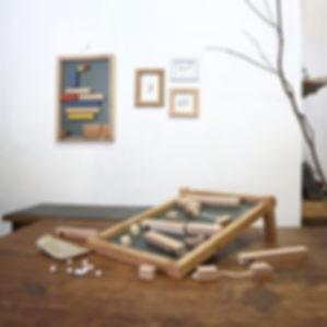 スローピーミニ 木のおもちゃ マグネット知育玩具 Saturday Factory